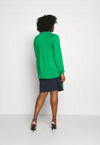 Lauren Ralph Lauren Woman - DUONG LONG SLEEVE SHIRT - Bluser - hedge green - 2