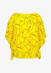 Lauren Ralph Lauren Woman - ANIELKA SHORT SLEEVE SHIRT - Bluser - dandelion fields multi - 4