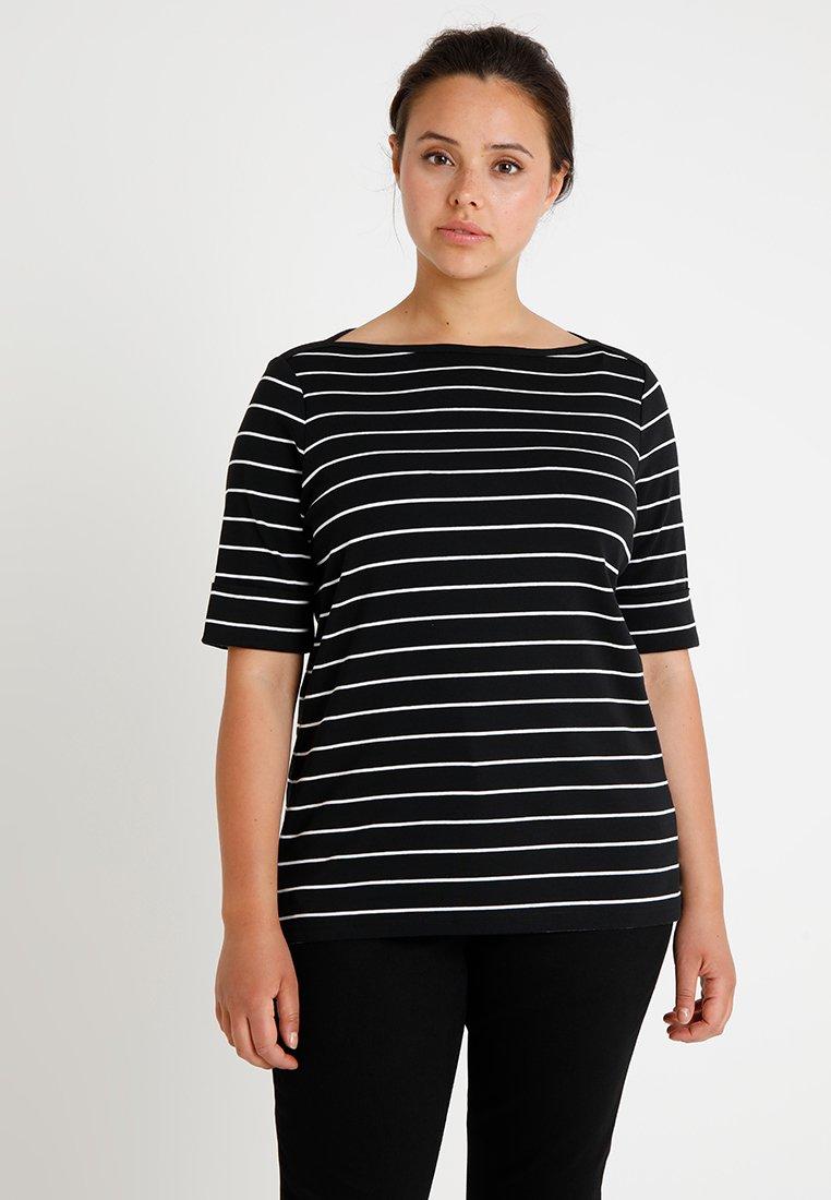 Lauren Ralph Lauren Woman - T-shirt print - polo black/white