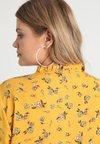 Lauren Ralph Lauren Woman - DRAPEY TIE NECK - Blouse - gold/multi