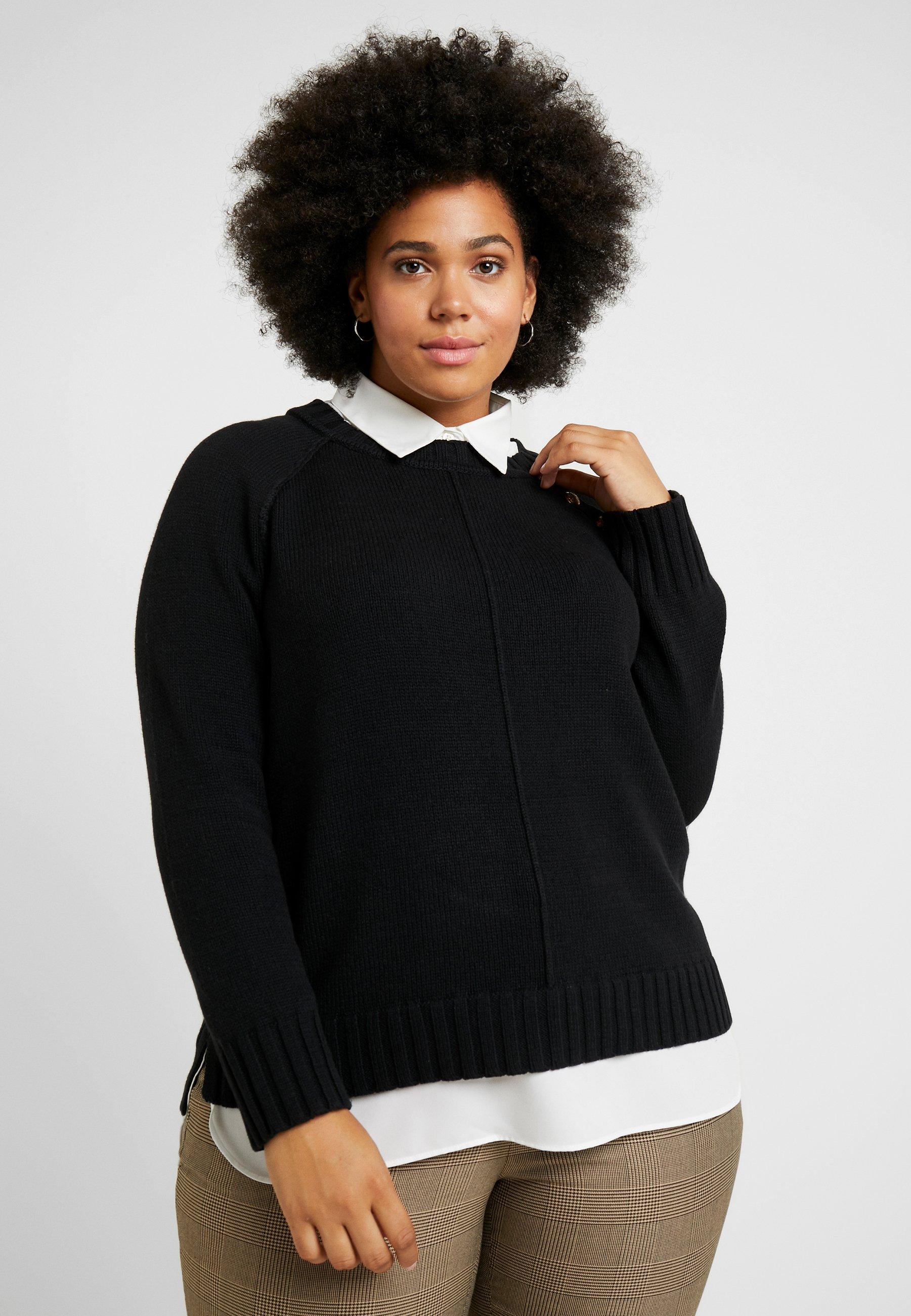 Shanetta Long Lauren Ralph SleevePullover Black Woman Aj3RqS5c4L