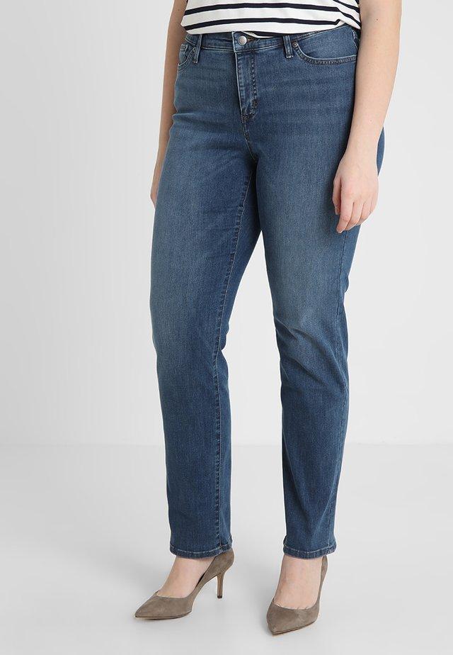 ULTIMATE  - Straight leg jeans - harbor wash denim