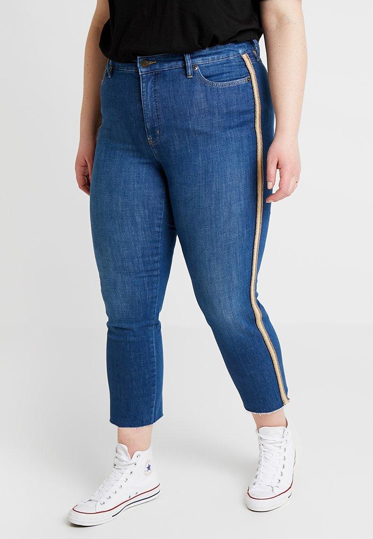 Lauren Ralph Lauren Woman - REGAL ANKLE-5-POCKET - Jeans Skinny Fit - eden indigo wash
