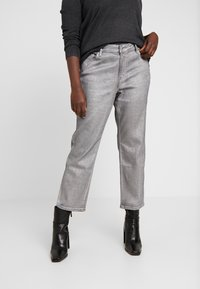 Lauren Ralph Lauren Woman - FIVE POCKET - Slim fit -farkut - bright pewter wash - 0