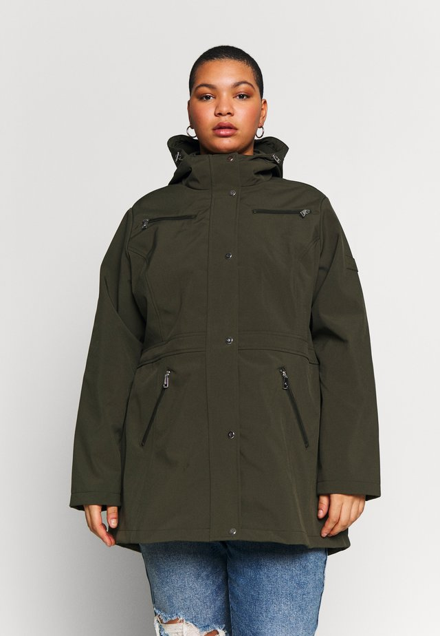 SYNTHETIC COAT - Parkatakki - light olive