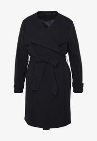 Lauren Ralph Lauren Woman - CREPE SYNTHETIC COAT - Zimní kabát - midnight - 4