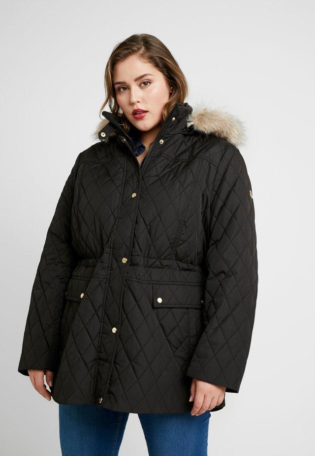 COAT - Kurzmantel - black