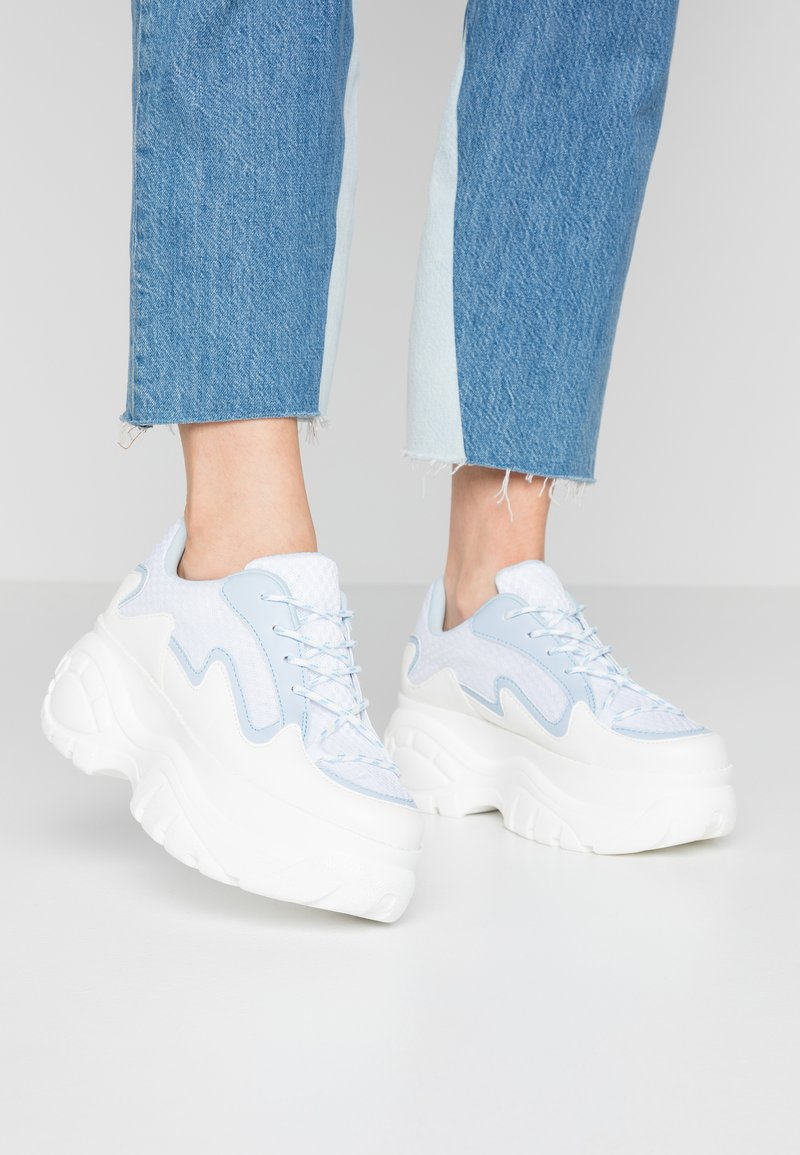 Lost Ink - CHUNKY TRAINER - Trainers - white