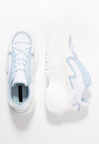 Lost Ink - CHUNKY TRAINER - Trainers - white - 3