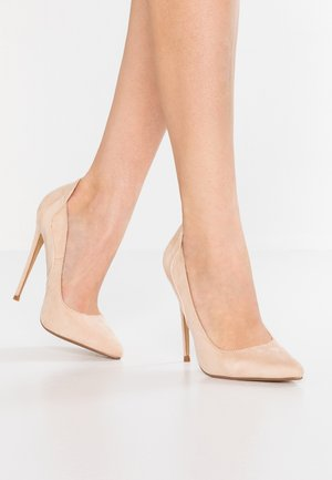 CLEO CURVED STILETTO COURT SHOE - Korolliset avokkaat - nude