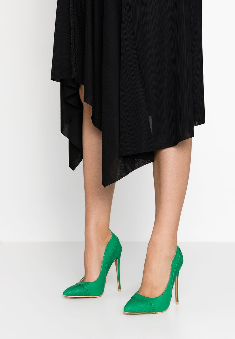 Lost Ink - CHARLY COURT SHOE - High heels - green