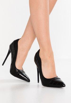 CHARLY COURT SHOE - Escarpins à talons hauts - black