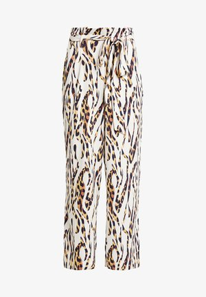 PAPER BAG WIDE LEG TROUSER - Trousers - multi