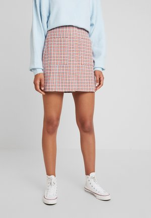 SKIRT CHECK - Jupe trapèze - multi