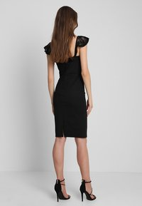 Lost Ink - BUST CUP BODYCON DRESS - Etuikleid - black - 3