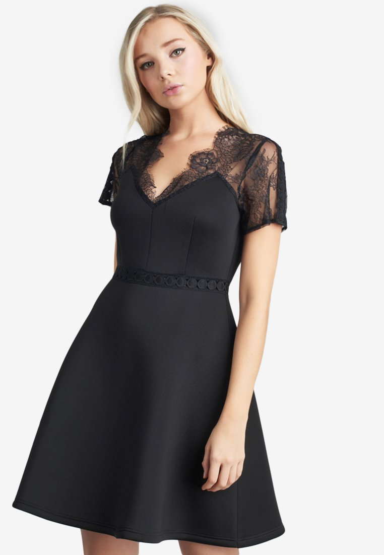 Lost Ink - Day dress - black