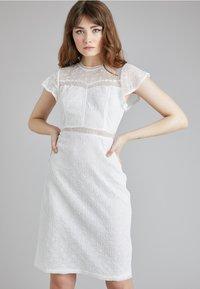 Lost Ink - Denní šaty - white - 0