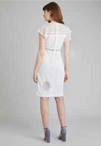 Lost Ink - Denní šaty - white - 2