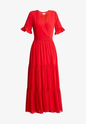 HEM WRAP DRESS - Maxi šaty - red