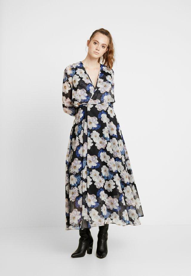 FLORAL PRINT WRAP DRESS - Vapaa-ajan mekko - multi