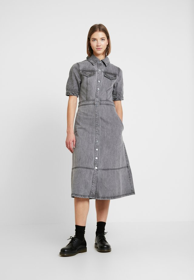 DRESS - Spijkerjurk - grey