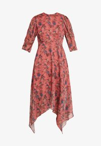 Lost Ink - ASYM PRINTED DRESS - Denní šaty - multi - 3