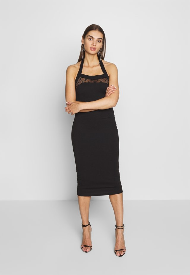 BODYCON DRESS - Sukienka etui - black