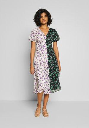 PRINT MIX STRAPPY BACK MIDI DRESS - Day dress - multi