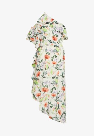 ONE SHOULDER PRINTED - Vestido informal - multi