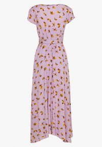 Lost Ink - FLORAL WRAP MIDAXI DRESS - Maxi dress - purple - 1