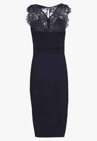Lost Ink - BODYCON MIDI DRESS - Vestido de tubo - navy