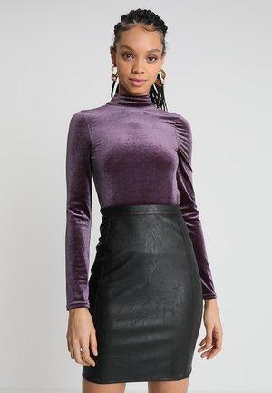OPEN BACK TIE BODY - Top sdlouhým rukávem - lilac