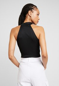 Lost Ink - HIGH NECK BODY - Top - black - 2