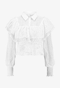 Lost Ink - MIX AND FRILL DETAIL - Blouse - ivory - 3