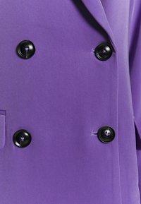 Lost Ink - CONTRAST BUTTON - Blazer - purple - 2