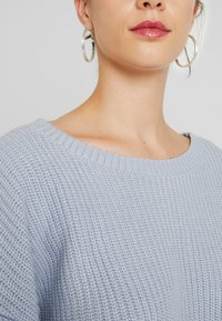 Lost Ink - BALLOON SLEEVE JUMPER - Maglione - light blue - 5