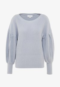 Lost Ink - BALLOON SLEEVE JUMPER - Maglione - light blue - 4
