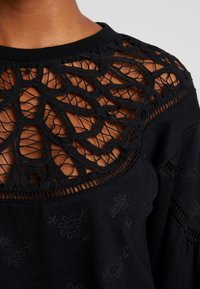 Lost Ink - WITH TRIM - Sweatshirt - black - 4