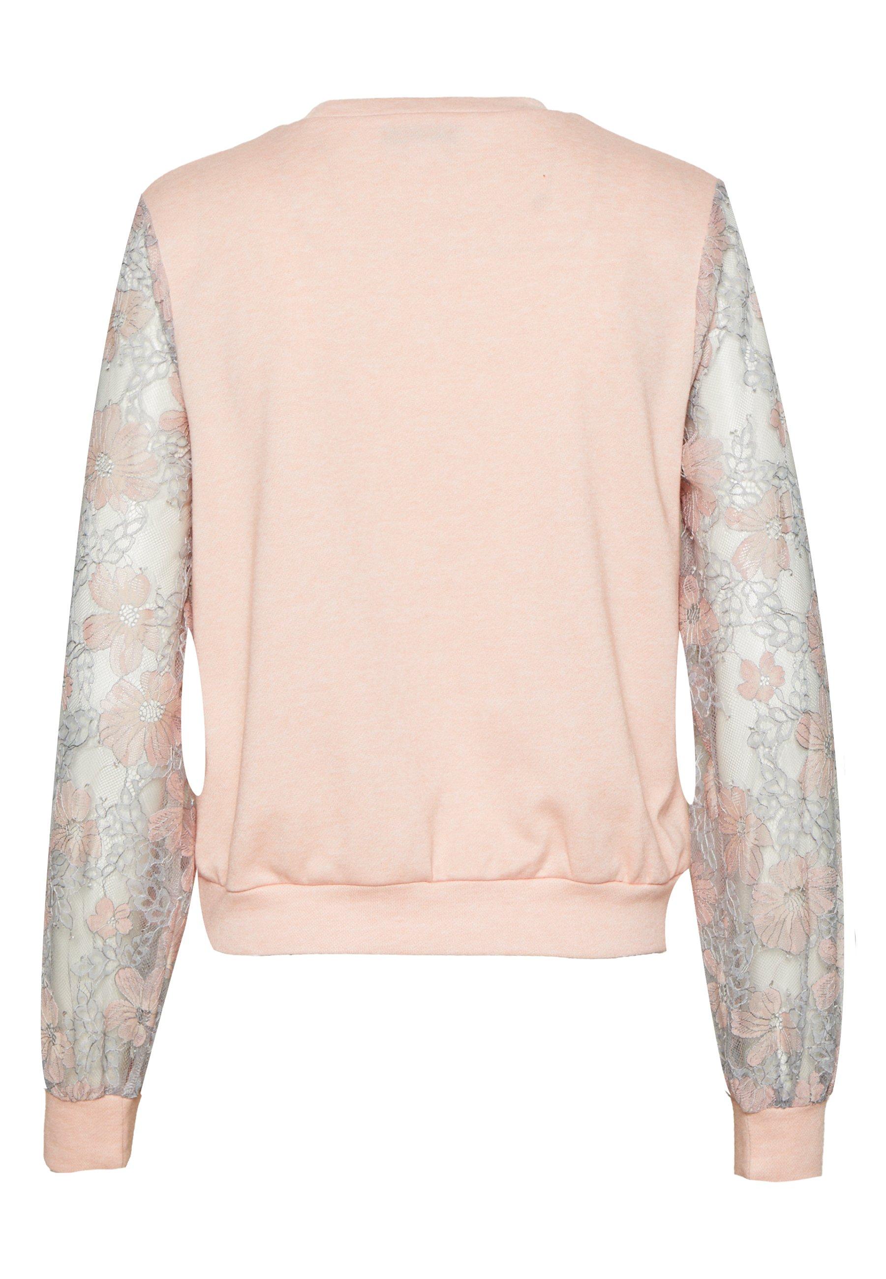 Lost Ink Sweatshirt - Apricot Melange