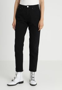 Lost Ink - VINTAGE MOM - Jeans baggy - black - 0