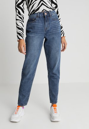 VINTAGE MOM IN COCOA - Jean boyfriend - blue denim