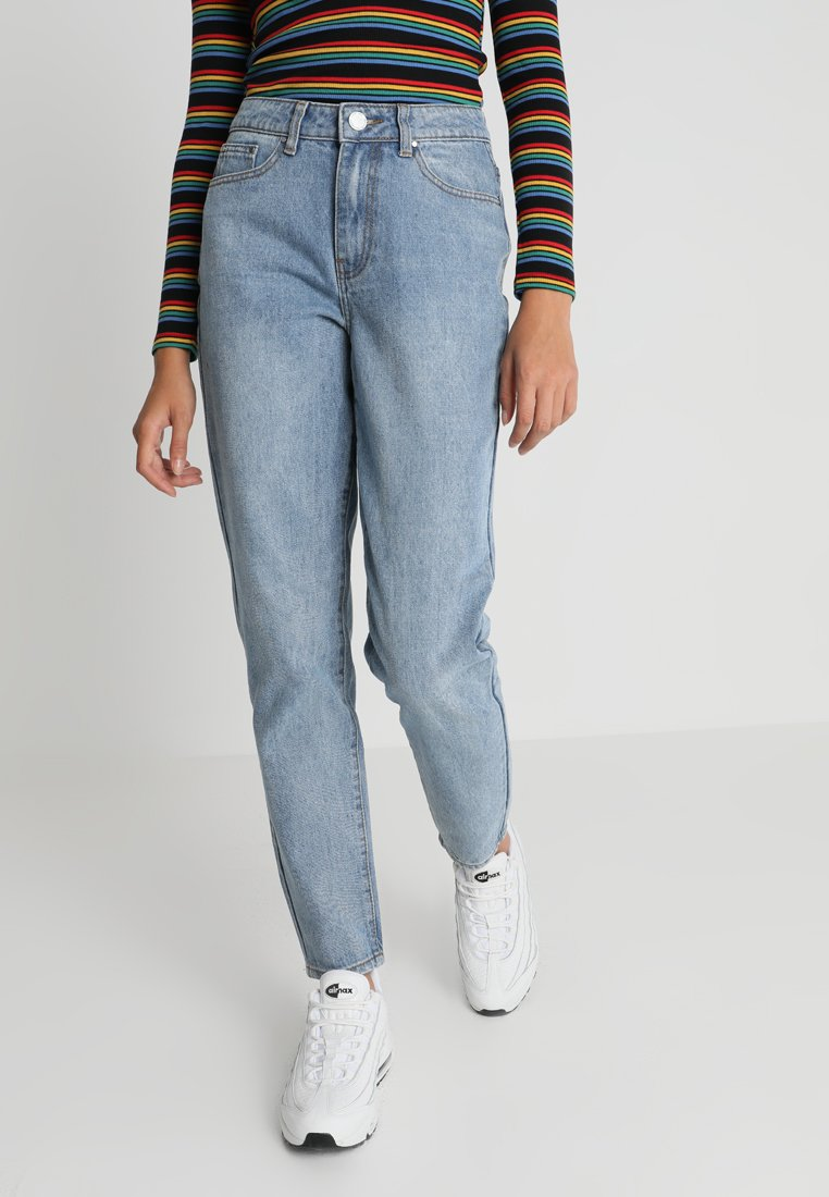 Lost Ink - VINTAGE MOM - Jeans Relaxed Fit - light blue denim