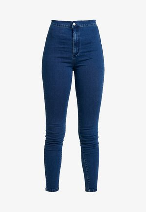 HIGH WAIST - Jeans Skinny Fit - mid denim