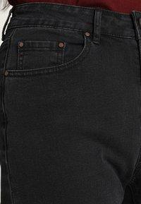 Lost Ink - Flared jeans - washed black - 6