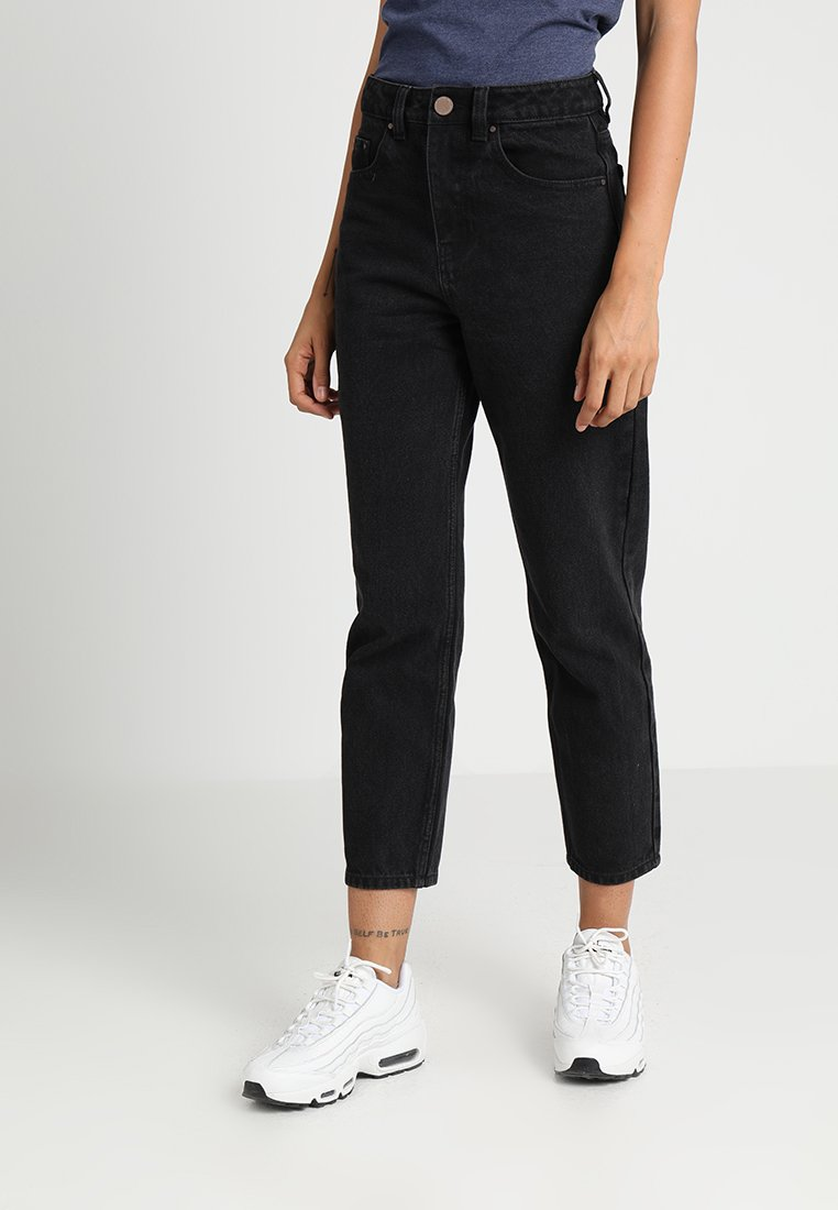 Lost Ink - Jeans Straight Leg - washed black