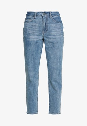 TOMBOY POWDER WASH - Jean boyfriend - light denim