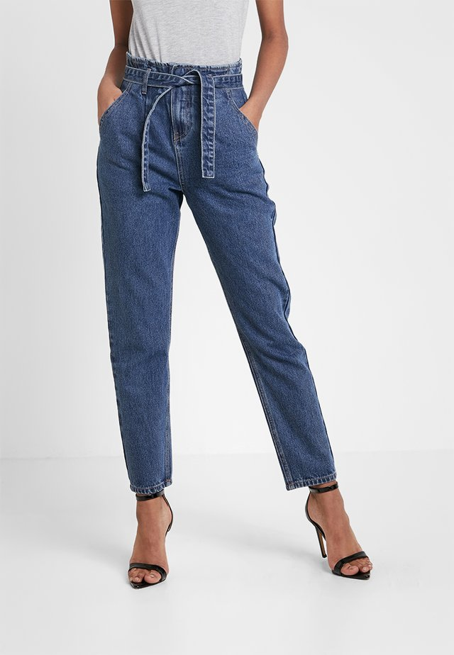 PAPERBAG - Jeansy Relaxed Fit - blue denim