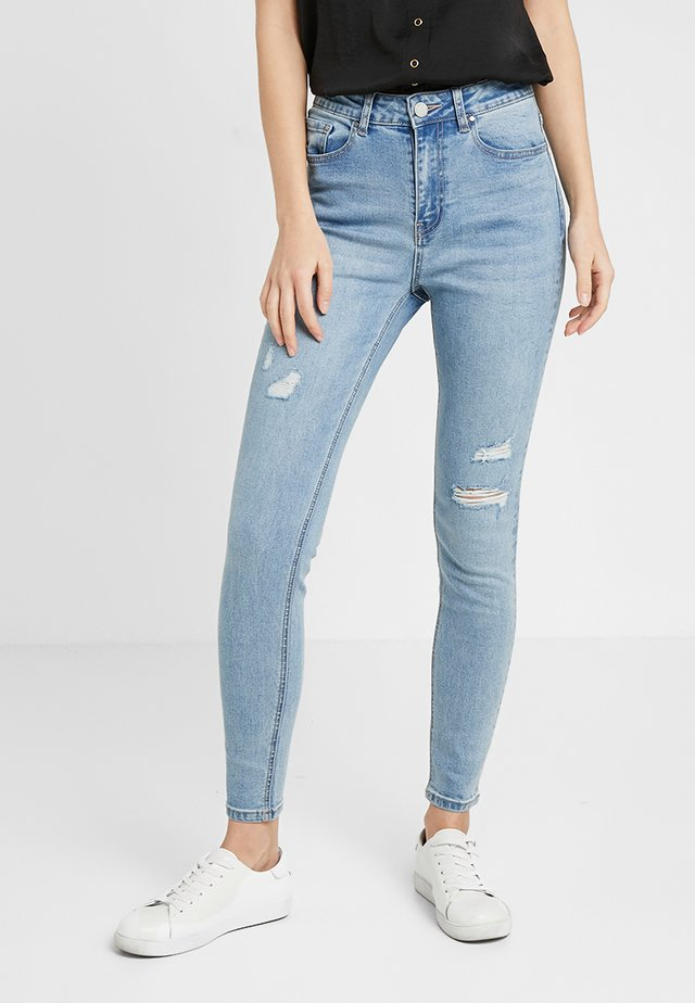 HIGH WAIST ARTIC - Jeans Skinny Fit - light denim