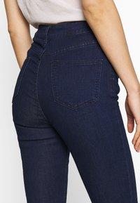 Lost Ink - SUPER HI WAIST PEONY - Jeans Skinny Fit - indigo - 3