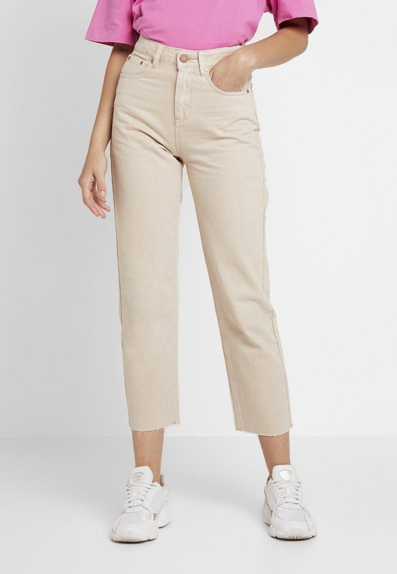 Lost Ink - Jeans Straight Leg - beige